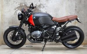 BMW R NINE T PRETA - 4