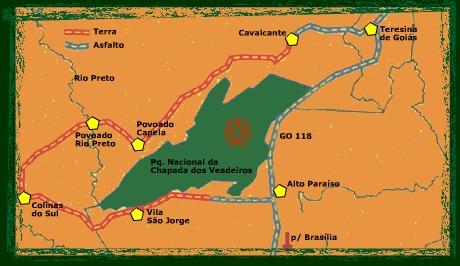 mapa_chapada_veadeiros