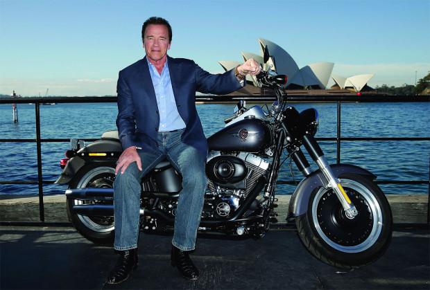 """Harley-Davidson Fat Boy, de volta  em  """"O Exterminador do Futuro: Gênesis"""""""