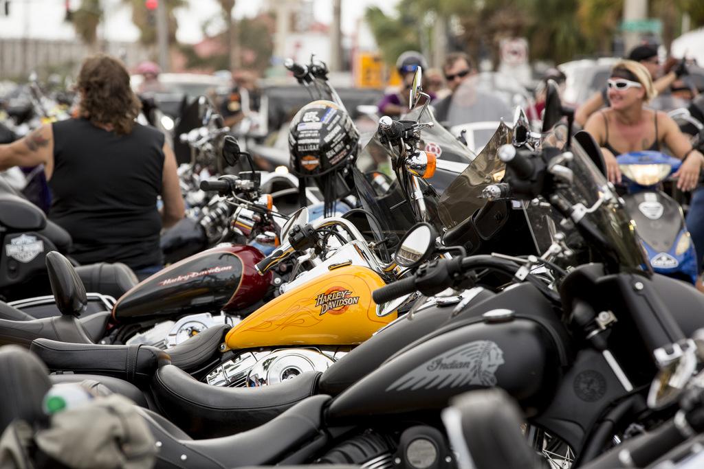 Biketoberfest, Daytona Beach, Daytona International Speedway.
